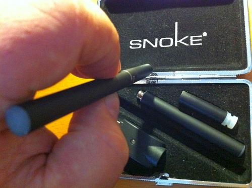 Foto: Elektrische Zigarette von SNOKE aus Köln (made in Germany!)