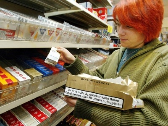 Bild von Tabakwerbung wird weiter eingeschränkt