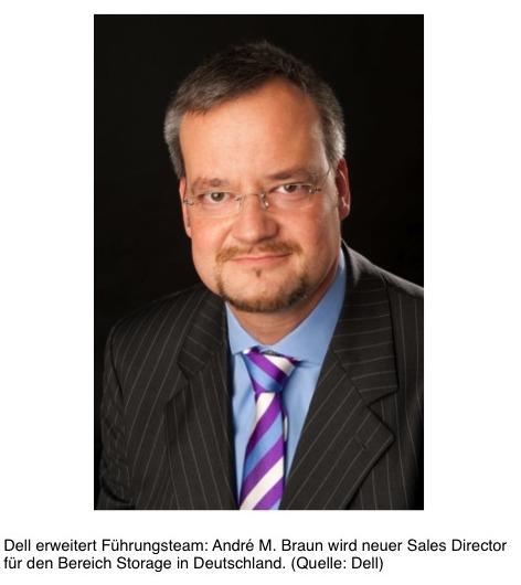 Bild von André M. Braun wird neuer Sales Director bei Dell für den Bereich Storage in Deutschland