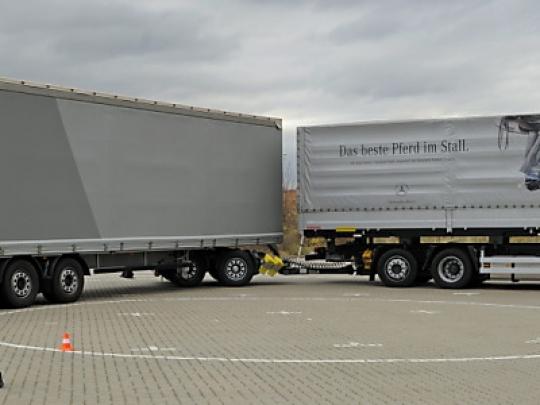 Bild von Verkehrsministerium widerspricht Kritik an Gigalinern