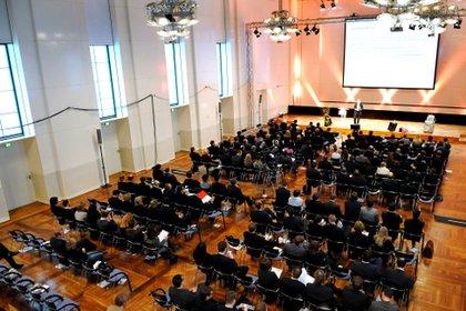 Der BJU Unternehmertag 2012 in Frankfurt am Main - im Hause der Deutschen Bank.