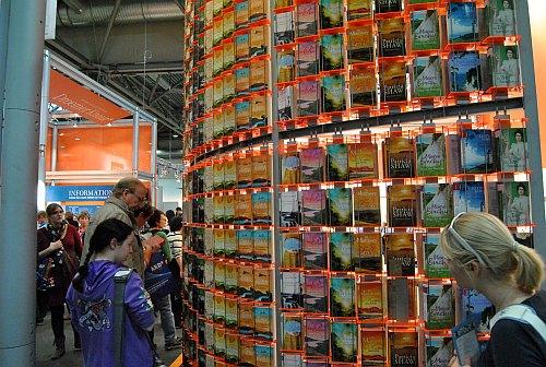 Leipziger Buchmesse 2012 - Große Auswahl für Roman-Leser.