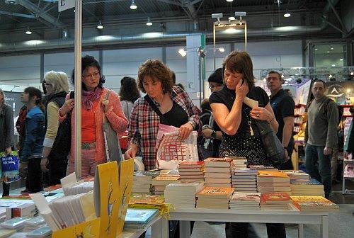 Riesen Auswahl: Leipziger Buchmesse ein Quell der Inspiration.