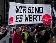 Zweite verdi Warnstreikwelle trifft Hessen und Bayern