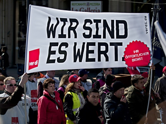 Photo of Zweite verdi Warnstreikwelle trifft Hessen und Bayern