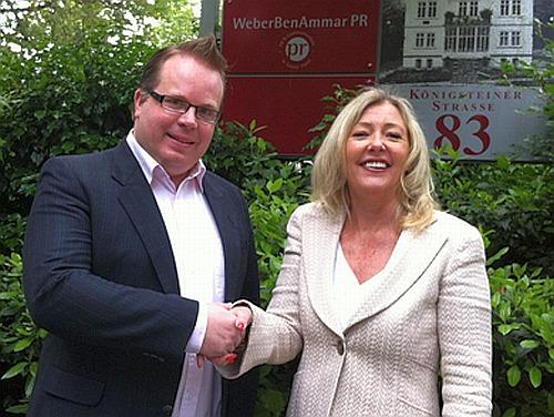 Sven Klawunder - Inhaber Flying Media, Annette Weber-Ben Ammar PR, Inhaberin WeberBenAmmar PR