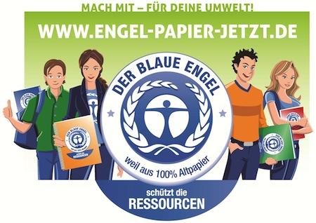 """Quellenangabe: """"obs/Blauer Engel"""""""