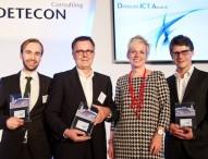 VMS, Fabasoft und Next Kraftwerke gewinnen Detecon ICT Award