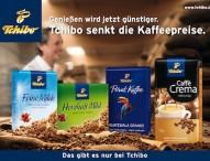 Tchibo senkt die Kaffeepreise