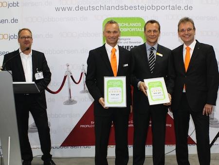 """Photo of """"Sehr gut"""" für Jobware"""