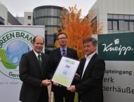 Kneipp als GREEN BRAND Germany ausgezeichnet