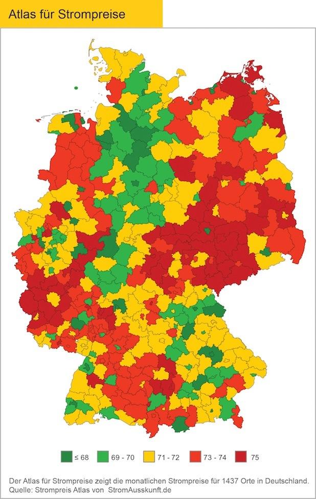 Bild von Strompreise in Deutschland