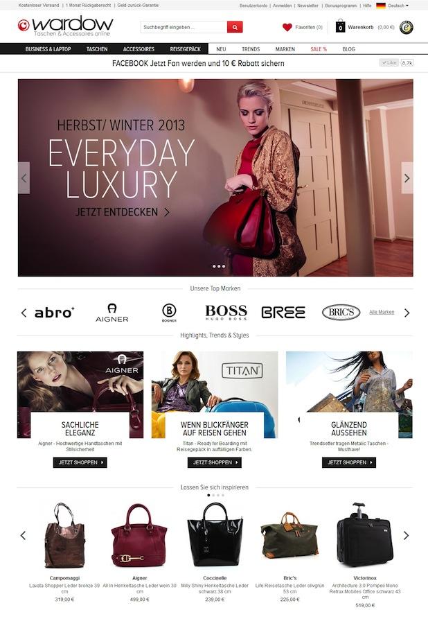 Bild von Die WARDOW GmbH launcht neuen Shop