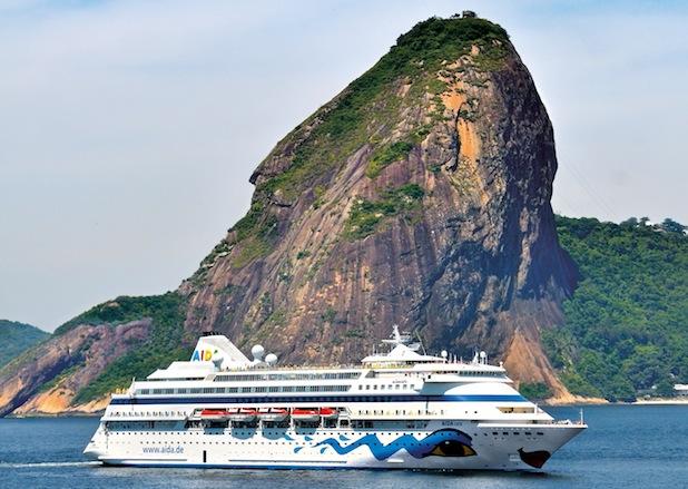 AIDAcara nach Modernisierung auf dem Weg nach Südamerika - AIDA Cruises investiert 10 Millionen Euro