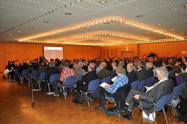 Mehr als 300 Unternehmer informierten sich - Foto: Johanna Behrendt