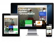 Pioniere der digitalen Kommunikation erneuern Webauftritt