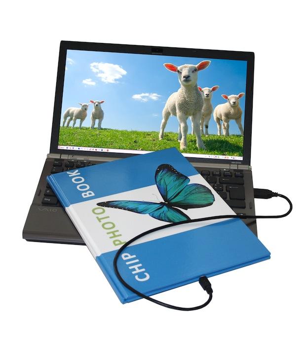 Photo of ChipPhotoBook mit integriertem Speicherchip