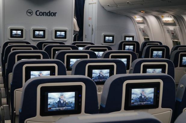 Bild von Condor Langstreckenflotte: Erstflug mit neuer Kabine