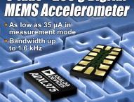3-Achsen MEMS-Beschleunigungssensor für hohe g-Werte