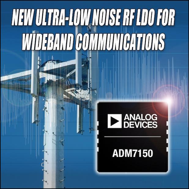 Bild von Analog Devices: Extrem rauscharme HF-LDOs reduzieren das Phasenrauschen