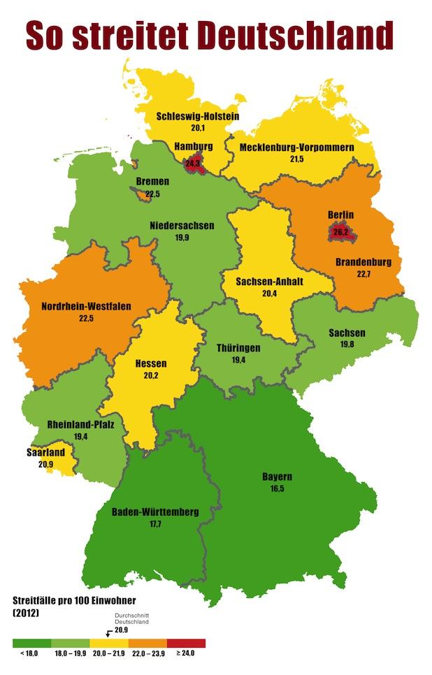 Bild von Berliner sind die streitlustigsten Deutschen