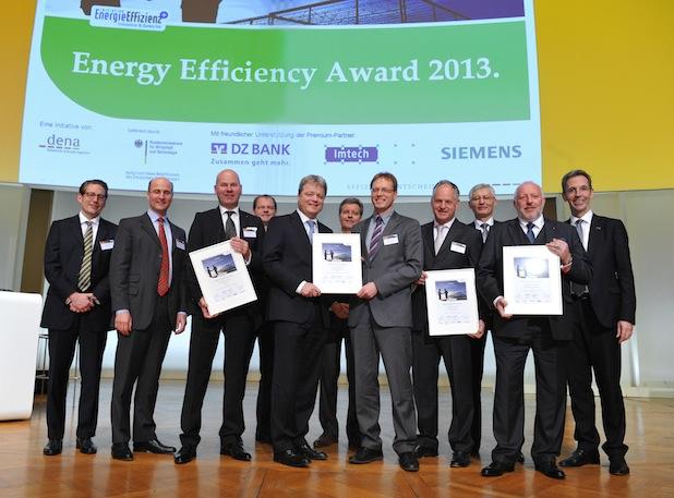 Bild von dena verleiht Energy Efficiency Award 2013
