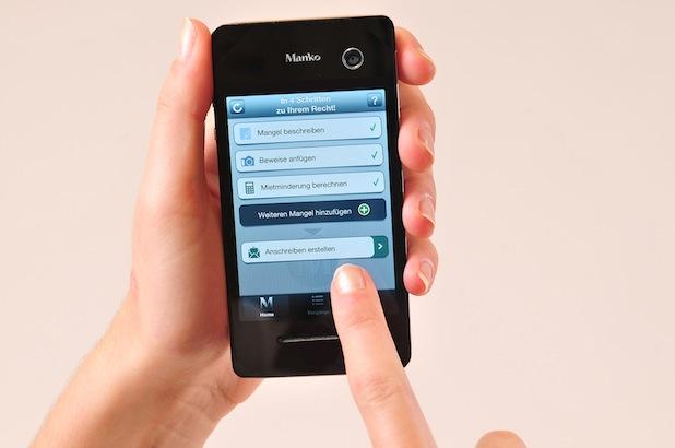 """Photo of Neue App: Mit """"Manko"""" gegen Wohnungsmängel"""