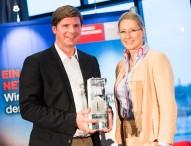 Florian Toncar erhält den Preis der Generationengerechtigkeit
