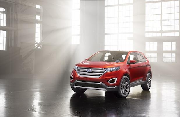 Bild von Neues SUV-Topmodell von Ford in Europa
