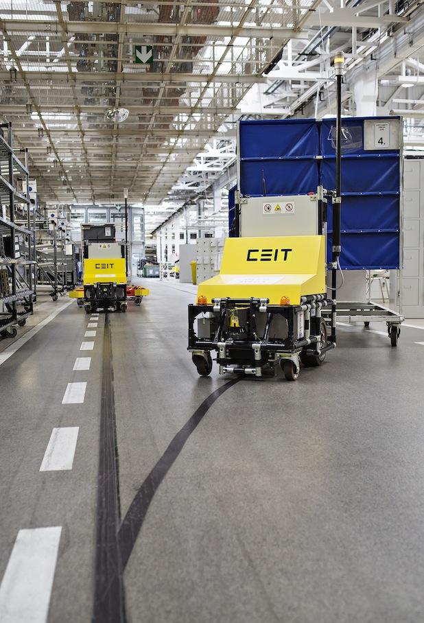 Bild von Neue Systeme machen SKODA Produktionslogistik effizienter und umweltfreundlicher