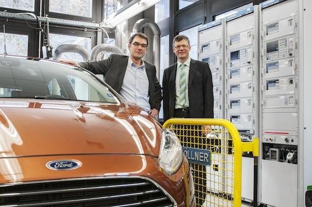 Bild von Ford spendet Abgasmessanlage an Fachhochschule Köln