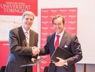Santander unterstützt die Universität Tübingen