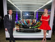 Jeff Koons' BMW Art Car feierte Nordamerika-Premiere