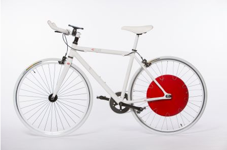 "Photo of Das Hybridrad ""Copenhagen Wheel"" fährt intelligent"