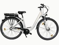 Elektro-Fahrräder mit Smartphone-Halterung