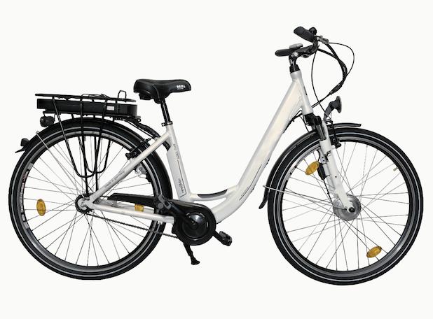 Bild von Elektro-Fahrräder mit Smartphone-Halterung