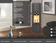 Den eigenen Kaminofen schon vor dem Kauf virtuell zu Hause aufstellen
