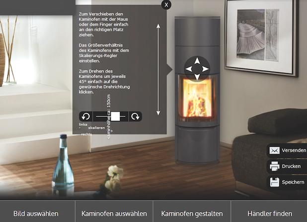 Photo of Den eigenen Kaminofen schon vor dem Kauf virtuell zu Hause aufstellen