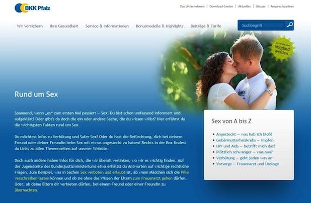 Photo of Junge Themen auf BKK Pfalz-Website