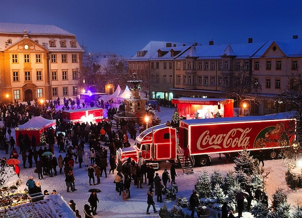 Photo of Coca-Cola Weihnachtstour 2013