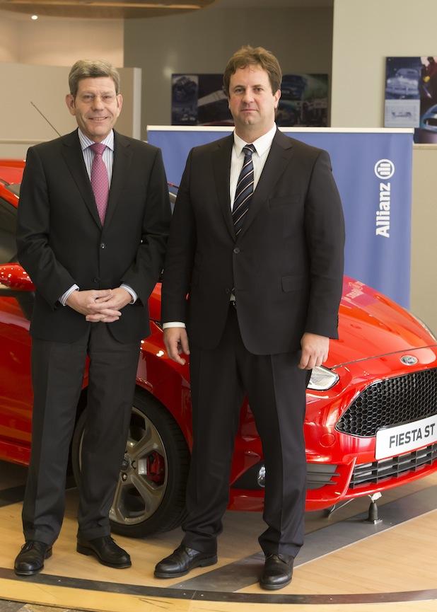 Bild von Allianz und Ford bilden Kooperation
