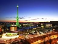 Berliner Funkturm geht online