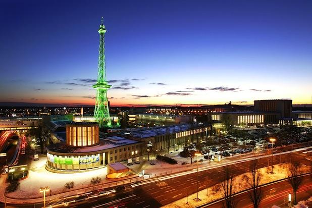 Bild von Berliner Funkturm geht online