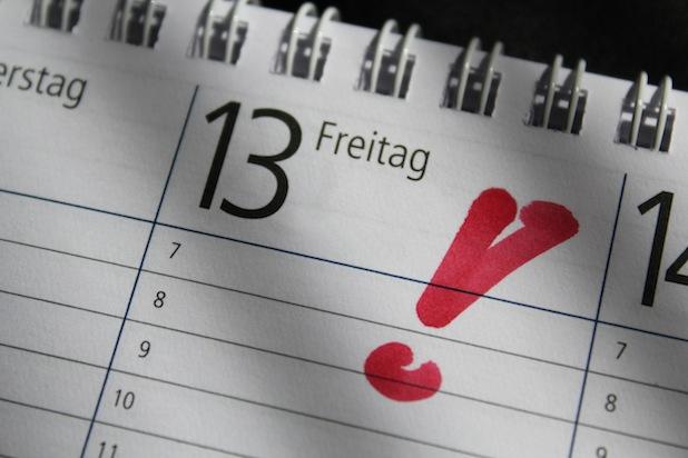 Photo of Schön! Freitag, der 13. ist kein Unglückstag