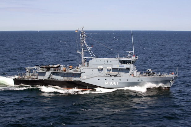 Bild von Minentauchereinsatzboote kehren gemeinsam aus dem NATO-Einsatz heim