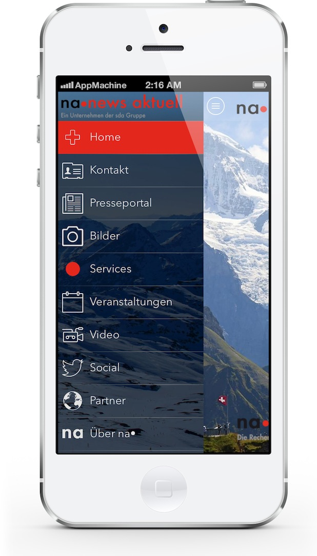 Bild von Neue App für Unternehmensnachrichten bereit