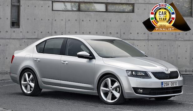 Bild von SKODA Octavia als 'Car of the Year 2014'-Finalist nominiert