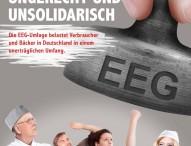 Zentralverband des Deutschen Bäckerhandwerks fordert Abschaffung der EEG-Umlage