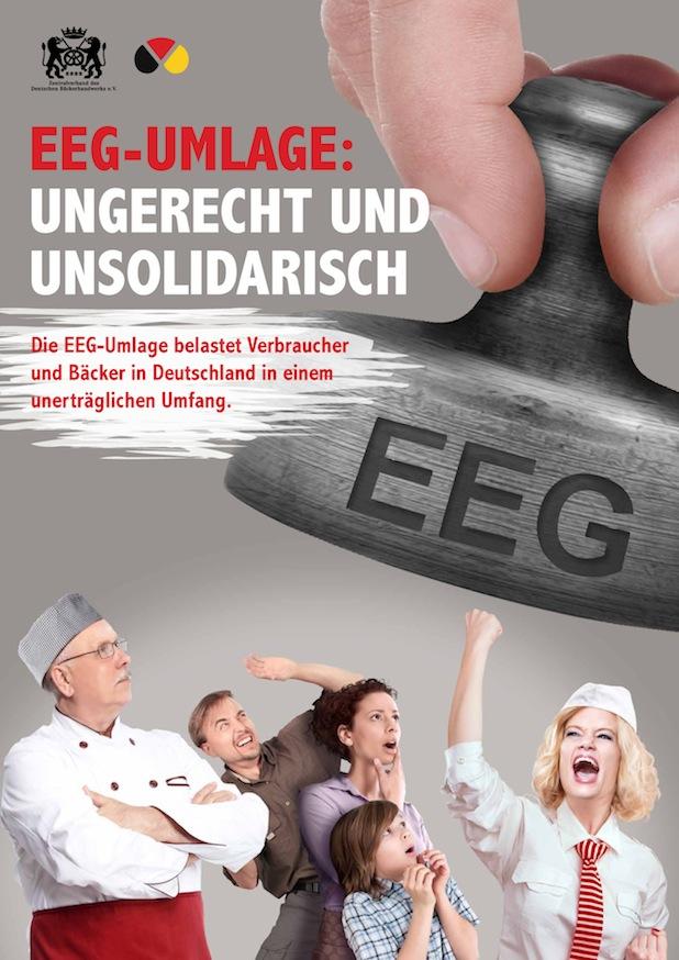 Bild von Zentralverband des Deutschen Bäckerhandwerks fordert Abschaffung der EEG-Umlage