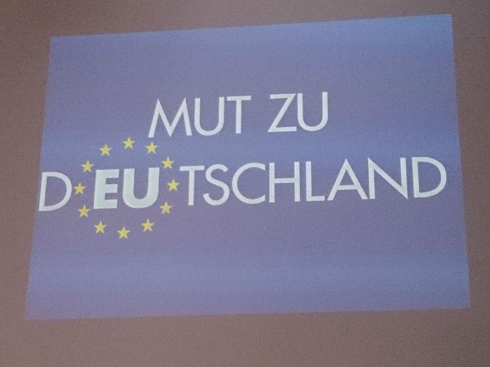 """Bild von Aschaffenburg: AfD fordert im Europawahlkampf """"Mut zu Deutschland"""""""